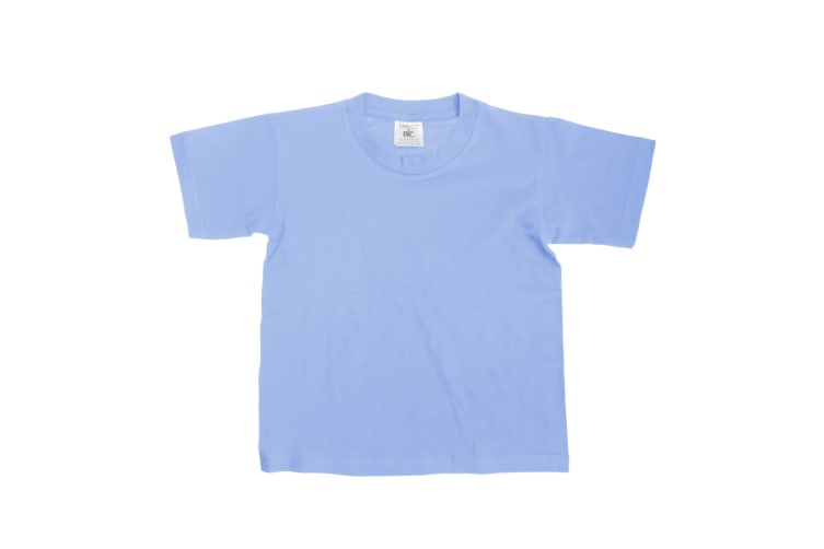 B&C Kids/Childrens Exact 150 Short Sleeved T-Shirt (Denim) (7-8)