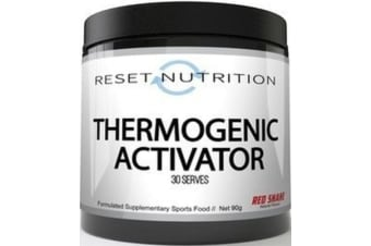 Reset Nutrition Thermogenic Activator Fat Burner Acetyl l Carnitine + Tartrate - Passionfruit, 30 Serves