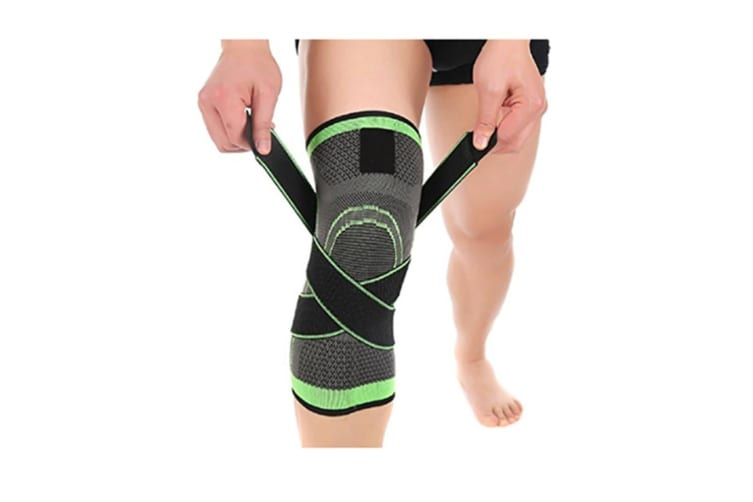 Knee Brace,Conlink Compression Support Knee Sleeve with Adjustable Strap Knee Pad for Pain Relief, S