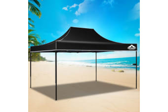 Pop Up Gazebo 3x4.5 Outdoor Tent Folding Wedding Marquee Gazebos