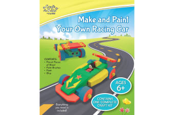 Make And Paint Your Own Racing Car