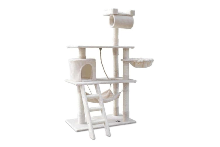158cm Cat Tree Scratching Post Scratcher Pole Gym Toy House Furniture Multilevel