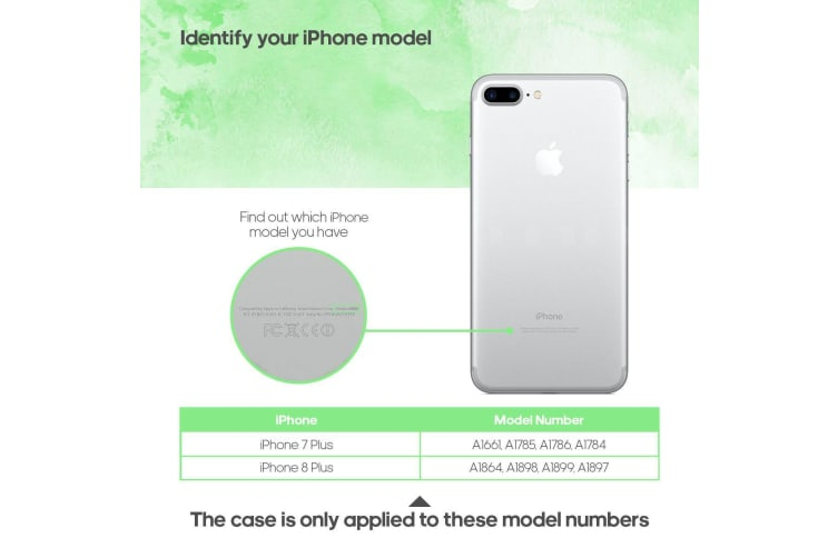 For iPhone 8 PLUS 7 PLUS Case Elegant Deluxe Leather Protective Cover Grey