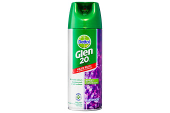 Dettol Glen 20 Disinfectant Spray 300g Kills 99.9% of Virus/Germs Lavender