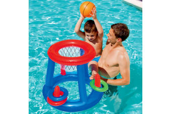 Bestway Inflatable Float Game Play Pool Kool Dunk Set Pool Toy