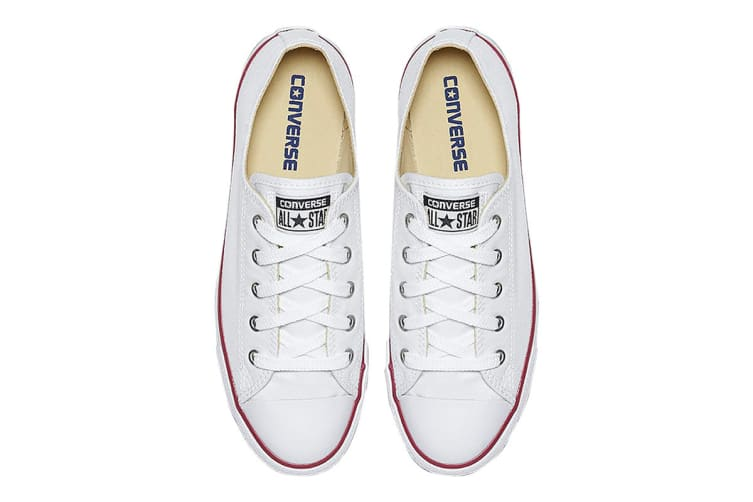 Converse Unisex Chuck Taylor All Star Dainty Ox (White, Size 7)