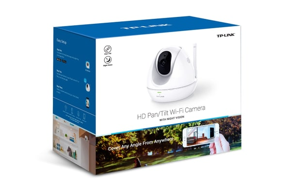 TP-Link HD Pan/Tilt Wi-Fi Camera with Night Vision (TL-NC450)