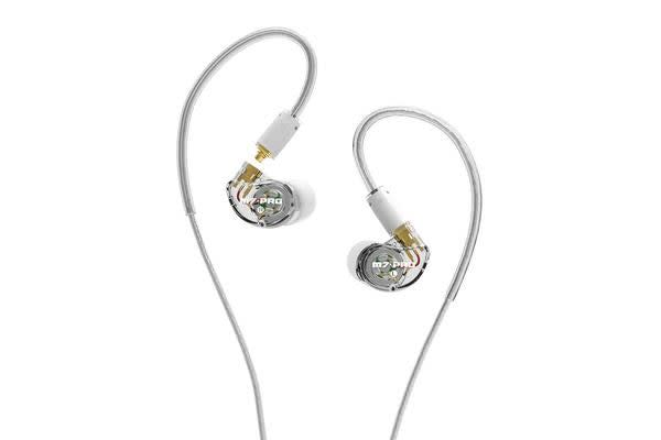 Mee Audio M7 PRO Hybrid Dual-Driver In-Ear Monitors - Clear - Universal-Fit Noise-Isolating