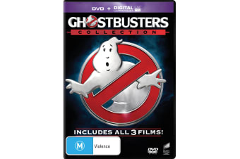 Ghostbusters 1-3 Collection DVD Region 4