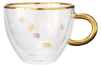 Ashdene Honey Bee Glass Cup