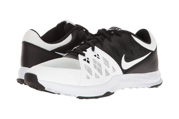 Nike Men's Air Epic Speed TR II Cross Trainer Shoe (Black/White, Size 7)