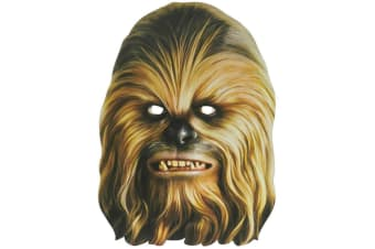 Star Wars Chewbacca Mask (Brown) (One Size)