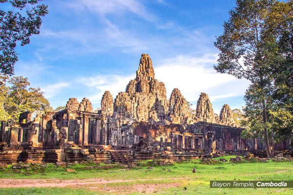 VIETNAM & CAMBODIA: 12 Day Charm of Vietnam and Cambodia Tour for Two Including Flights (Deluxe)