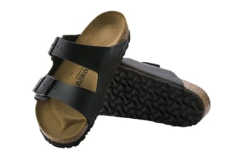 Birkenstock Unisex Arizona Birko-Flor Regular Fit Sandal (Black, Size 45 EU)