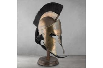 Full Scale Replica Spartan Helmet – King Leonidas