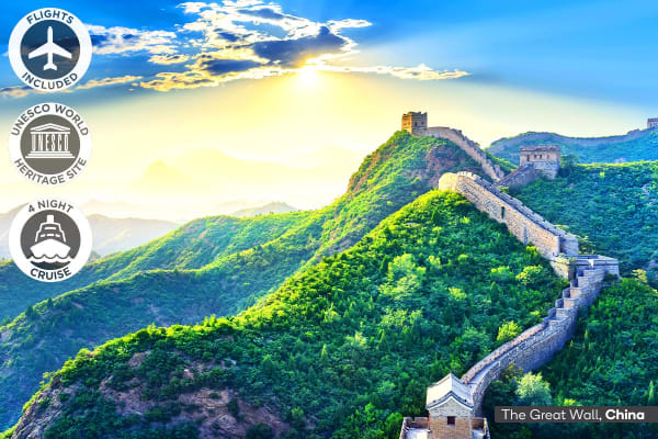 CHINA: 17 Day China Encompassed Tour Including Flights for Two