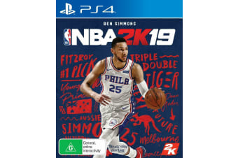 NBA 2K19 PS4 PlayStation 4 Game - Disc Like New