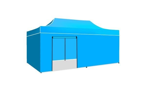 3x6m Gazebo Outdoor PopUp Tent Folding Marquee SKY BLUE
