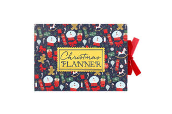Something Different Deck The Halls Christmas Planner (Multicolour) (One Size)