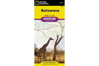 Botswana - Travel Maps International Adventure Map