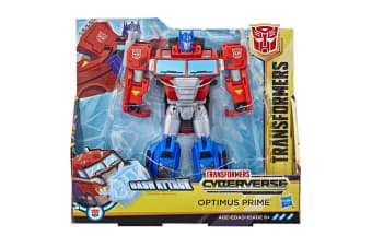Transformers Cyberverse Ultra Bash Attack Optimus Prime