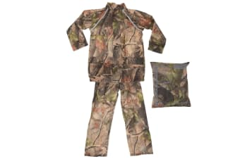 ProClimate Childrens Waterproof Camouflage Rain Suit (Camouflage)