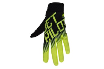 JetPilot Phantom Super Lite Glove - Black/Lime - 2X-Large