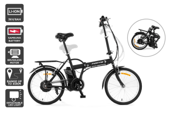 "Fortis Urban Speeder 20"" 36V Folding Electric Bike"