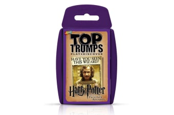 Top Trumps Harry Potter & The Prisoner of Azkaban Card Game 6y+ Family/Kids Toy