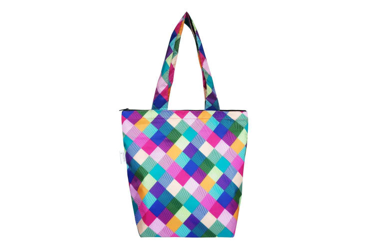 Sachi Insulated Folding Market Tote Bag - Harlequin