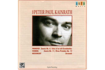 Peter Paul Kainrath- Prokofiev Feinberg Mussorgsky MUSIC CD NEW SEALED
