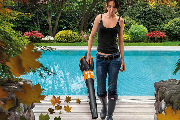 WORX 20V WORXAIR Cordless Turbine Blower with MAX 4.0Ah Battery and Charger (WG546E.1)