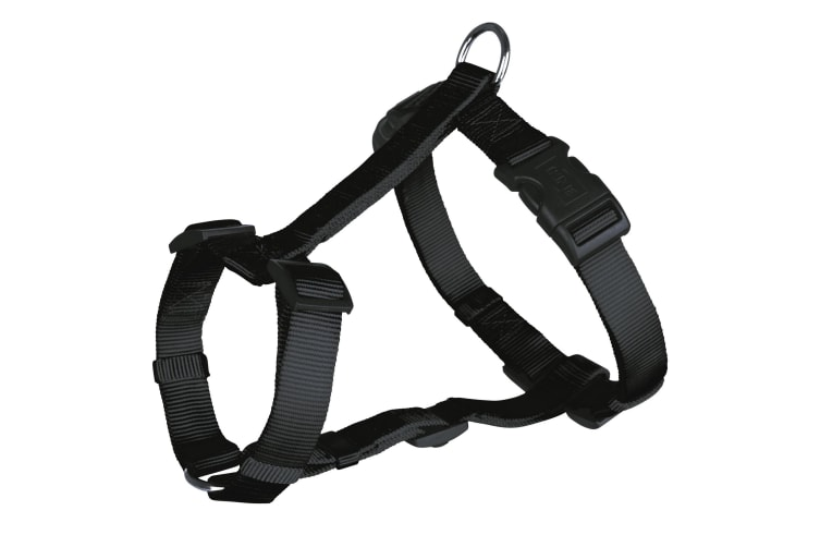 Trixie Classic H-Harness For Dogs (Black) (XS-S)
