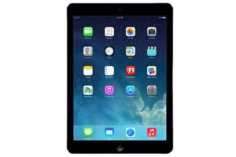 Used as demo Apple iPad AIR 1 16GB Wifi + Cellular Black (100% GENUINE + AUSTRALIAN WARRANTY)