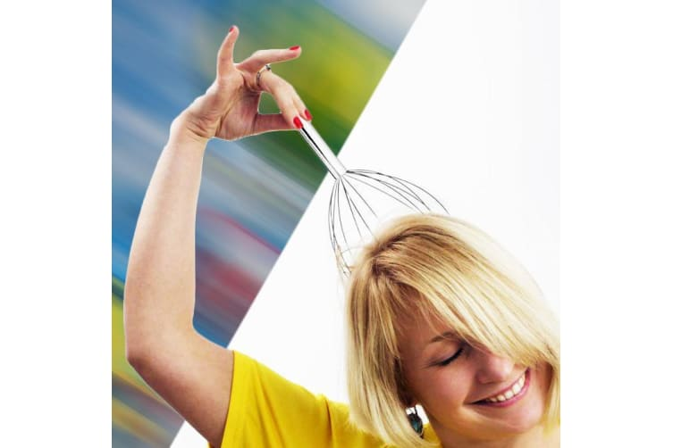 Magic Vibrating Head Massager – Wire Scratcher Orgasmatron Massage Vibrator Relax Tickler