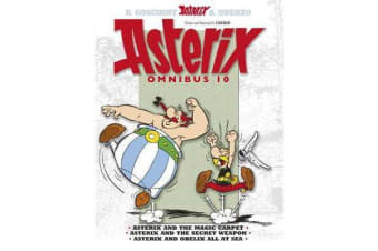 Asterix: Omnibus 10 - Asterix and the Magic Carpet, Asterix and the Secret Weapon, Asterix and Obelix All at Sea
