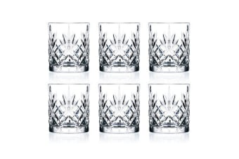 RCR Crystal Melodia Old Fashioned Tumbler 230ml Set of 6