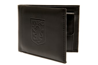 Aston Villa FC Debossed Wallet (Brown) (One Size)