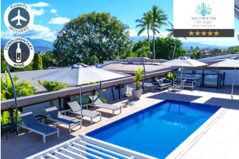 PORT DOUGLAS: 5 Nights at Saltwater Luxury Apartments Including Flights for Two