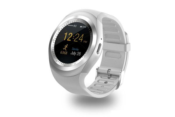 "TODO Bluetooth V3.0 Smart Watch 1.54"" Lcd Blood Pressure Heart Rate - White"
