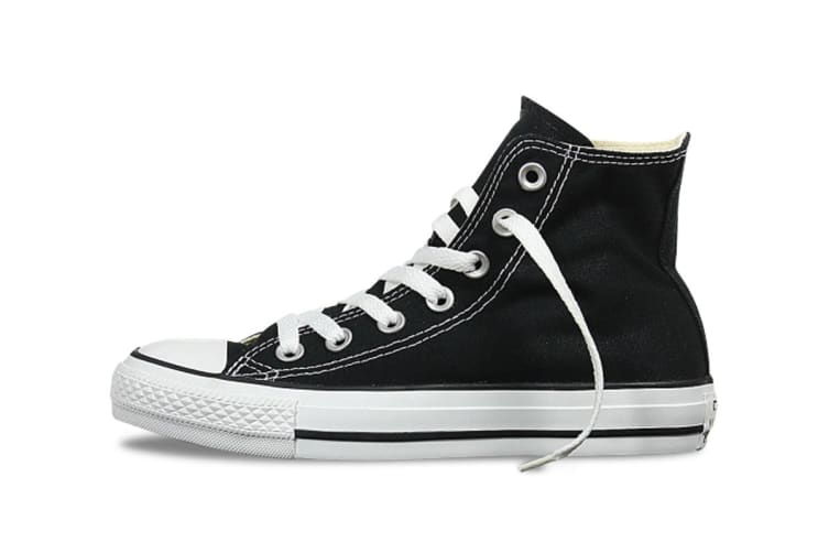 Converse Chuck Taylor All Star Hi (Black, US Mens 6.5 / US Womens 8.5)