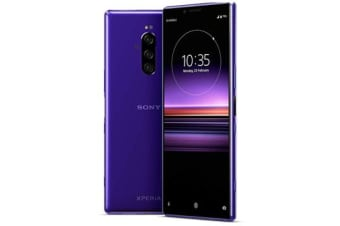 Brand New Xperia 1 Dual SIM 128GB 4G LTE Phone Purple (12MTH AU WTY)