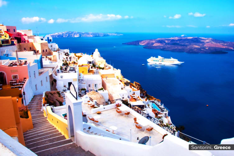 Europe 31 Day Grand European Tour With Mediterranean Cruise Including Flights For One Oceanview Cabin