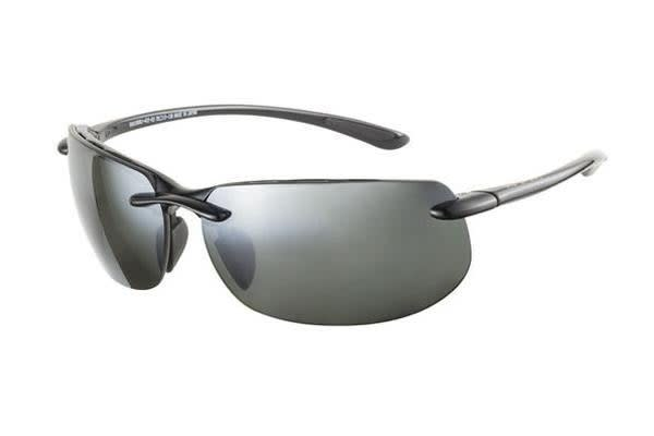 Maui Jim Banyans - Gloss Black (Neutral Grey Polarised lens) Unisex Sunglasses