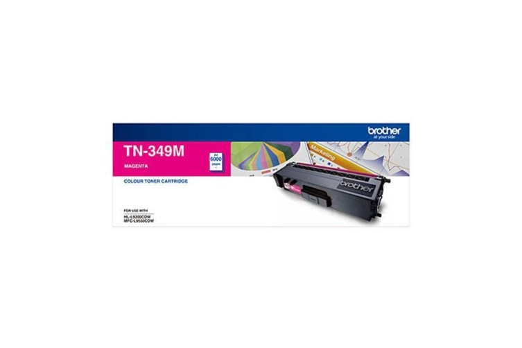 Brother TN349 Toner Cart 6,000 Pages - Magenta