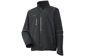 Helly Hansen Barcelona Softshell Jacket / Mens Workwear (Black)
