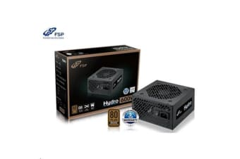 FSP Hydro 600W PSU - 230V -MEPS Ready 80 Plus Bronze - 5Yr