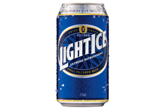 Fosters LightIce  Beer 24 x 375mL Cans