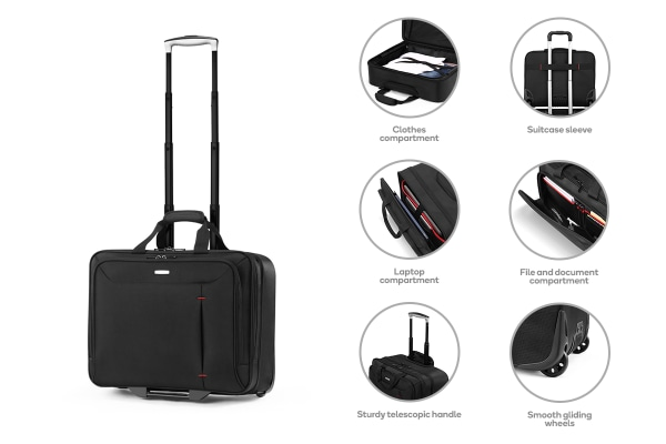 Orbis Executive Rolling Tote
