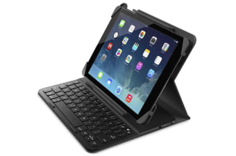 LOGITECH Belkin QODE Slim Folio Case Cover with Bluetooth Keyboard for iPad 2017